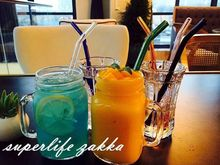 O.RoseLif 3 pcs/Lot Dia 8 MM Bending Sefety Heat-resistant 3 x Glass Straw + 1 x Brush Glass Pipet Colored Dots Straight