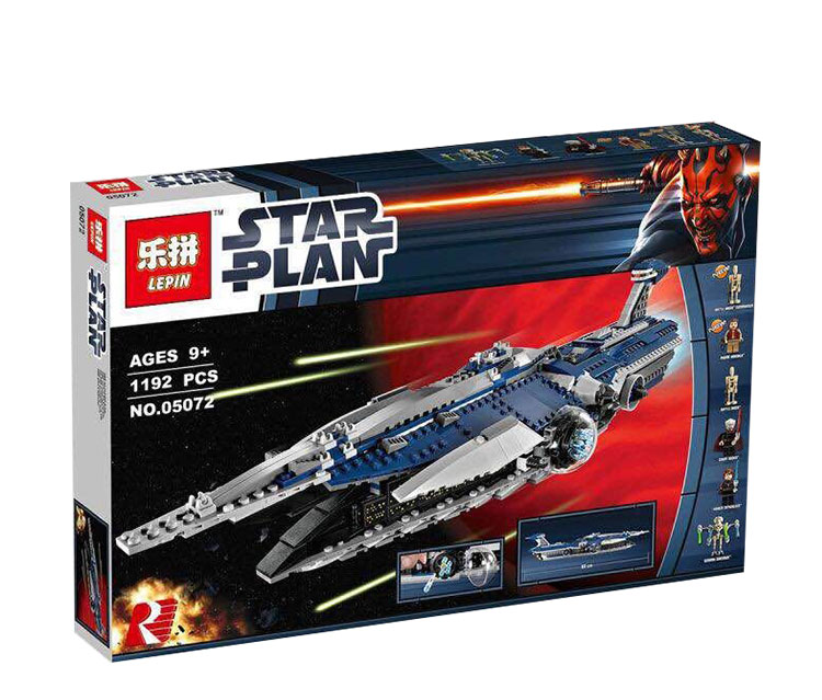 Lepin 05072 Star War Series The Limited Edition Malevolence Warship Set Children Building Blocks Bricks Boy`s Toys Model 9515 lepin 05035 star wars death star limited edition model building kit millenniums blocks puzzle compatible legoed 75159