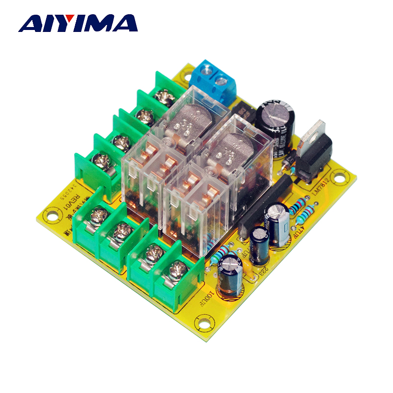 AIYIMA Audio Speakers UPC1237 Dual Channel Speaker Protection Circuit Board