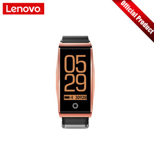 """Image 3 - Lenovo Smart Wristband Heart Rate Blood Pressure Sports Watch 0.96"""" TFT Touch Screen Metal Body Support Multiple Languages"""