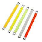 10W Highlight LED Light Strip 120MM*10MM COB Super Cool White Warm White red Lights Strips Lamps DIY Car Work 12V COB Bar Light