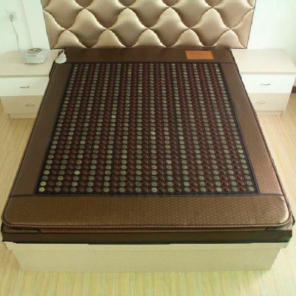 2016 China wholesaler Jade Massage Mattress Machine Korea Jade Mattress Heating Massage Korea Tourmaline Mat 1.2*1.9M 2016 electric heating massage jade stone mattress korean mattress wholesaler 1 2x1 9m