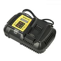 Newest 10.8V 12V 14.4V 20V Li ion For Dewalt Fast Charger Battery DCB118 Li Ion Battery Electric Screwdriver charger
