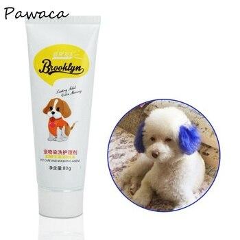 80g mascotas perro gato animales para colorear colorantes teñido pigmento suministros agente sano y ...