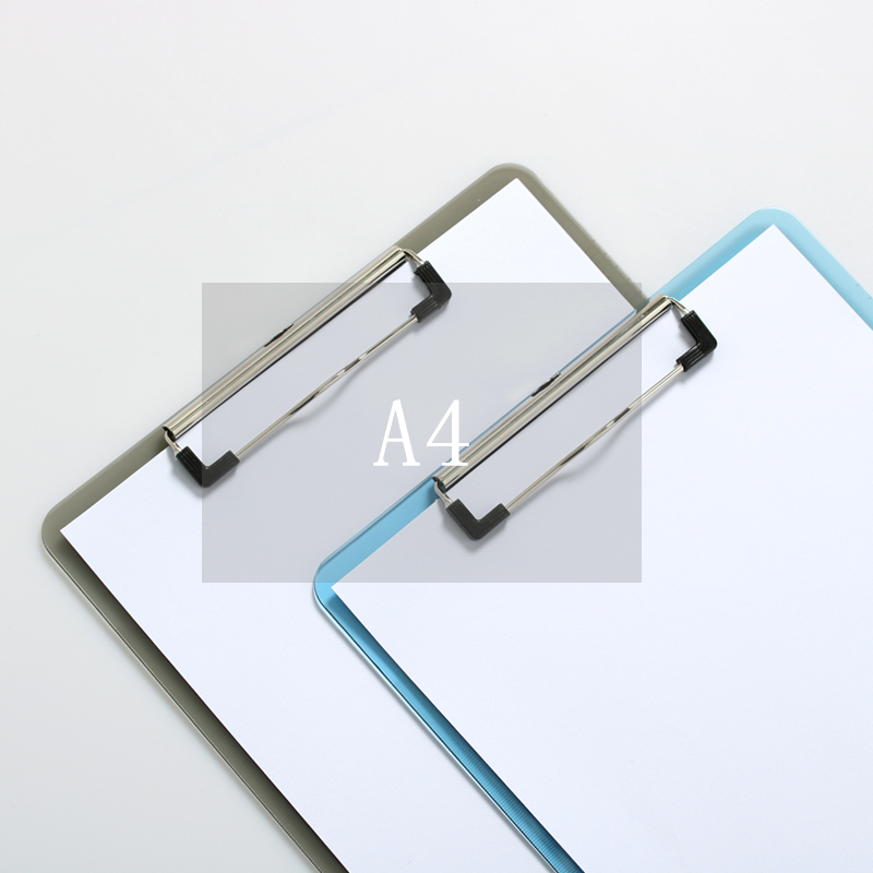 1 Pcs A4 Plastic Clipboard Clips Folder Clip Board Writing Pad School Office Accessories Supply Gift Stationery a grip a thick folder word folder a word a clips 4 inch 6 inch 9 inch