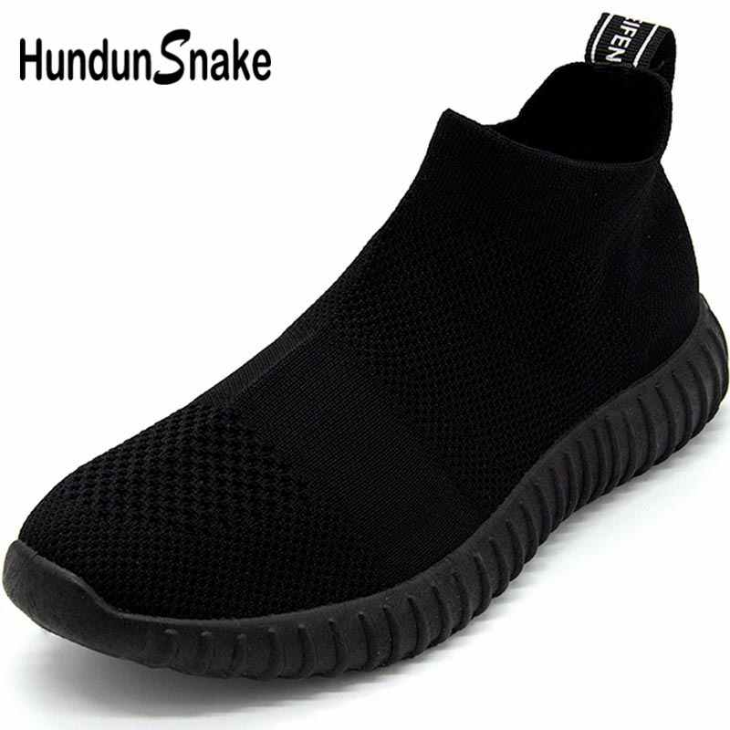 aeedfa2d25 Detail Feedback Questions about Hundunsnake Breathable Running Shoes ...