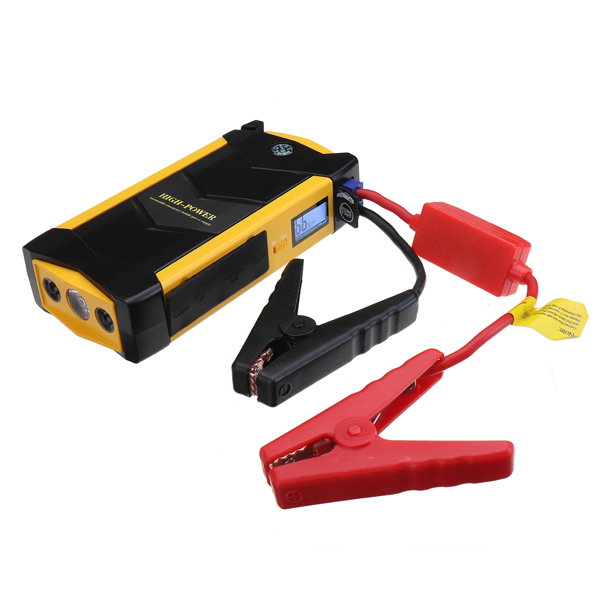 Power Car Jump Starter 12V Portable Starting Device Power Bank Car Charger For Car Battery Booster Buster 4 USB 17