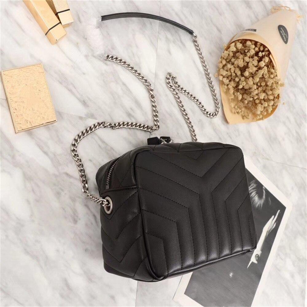 Sac Pour red Cuir Dames Bandoulière Black De Esbear En Luxe D'importation Main Top Qualité À Marques Sacs Femme Femmes Mode OCqHw