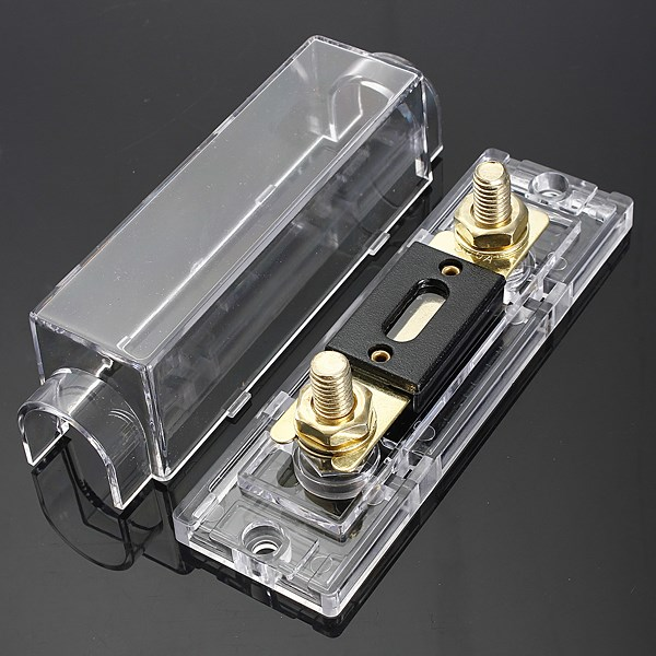 new anl fuse box fuse holder distribution fuseholder fuse holder new anl fuse box fuse holder distribution fuseholder fuse holder blade inline 0 4 8 gauge positive 300 amp in cables adapters sockets from automobiles