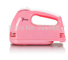 New Arrival Mini-power handheld electric mixer beat eggs home baked surface agitation Pink 220V 7 Speeds work two flat pins Plug цена и фото