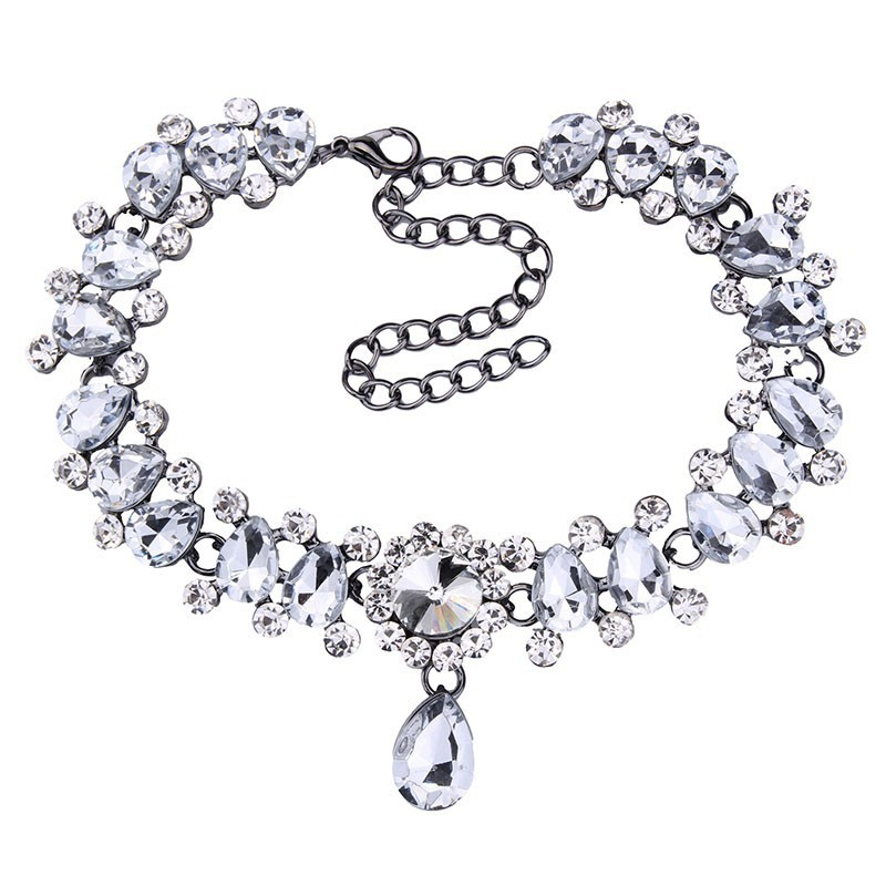 HTB13uIeOFXXXXbiXFXXq6xXFXXXP Luxurious Pearls And Crystals Statement Choker Collar Necklace With Pendant Charm - 8 Styles