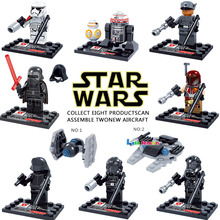Wholesale D867 New Star Wars minifigure Single sale Kylo Ren BB-8 R5-D4 Classic figures Collection Children Gift toys