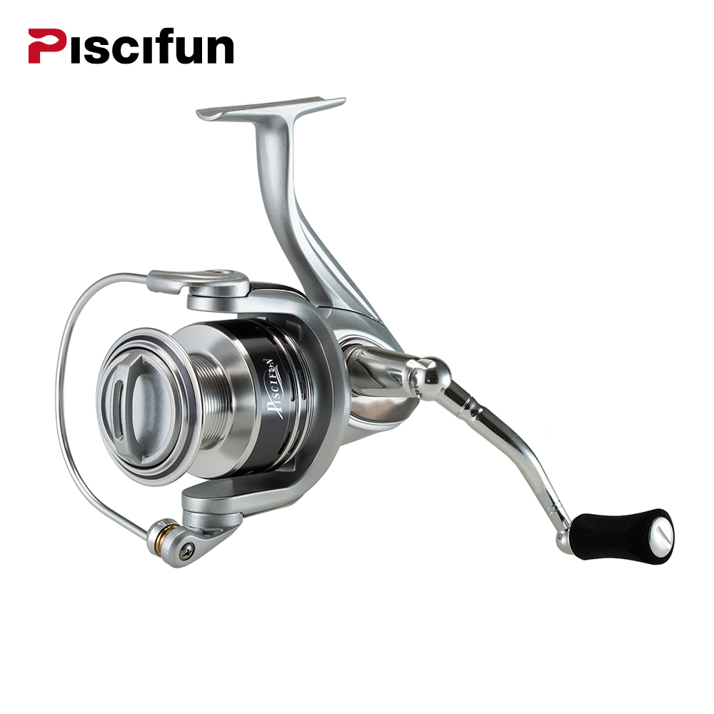 Piscifun Destroyer Spinning Fishing Reel 7+1BB Ultra Smooth Sealed Carbon Fiber Drag Spin Reel