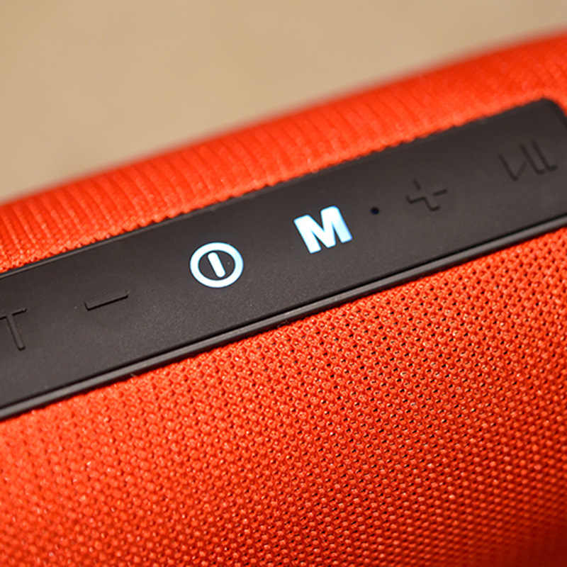 Portabel Bluetooth Speaker Nirkabel Bass Kolom Tahan Air Luar Ruangan Speaker Mendukung AUX Tf Usb Subwoofer Stereo Loudspeaker TG125