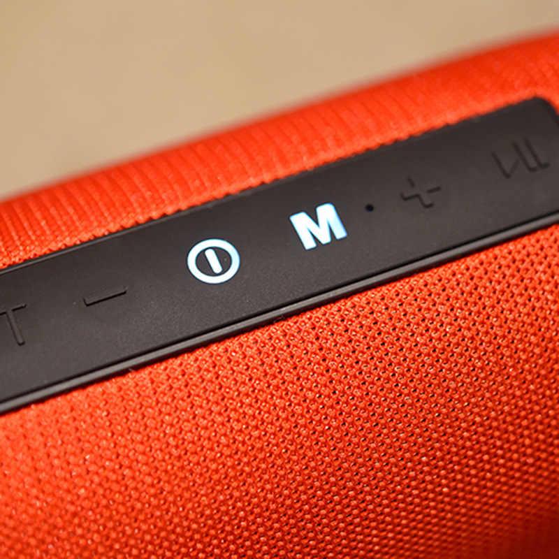 Портативная bluetooth-колонка Беспроводная колонка для басов влагостойкая уличная Колонка поддержка AUX TF USB Сабвуфер стерео громкий динамик TG125