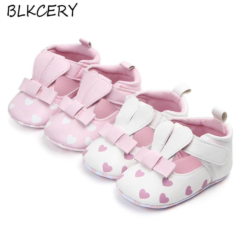 Baby Girl Flats Shoes Newborn Soft Moccasins Moccs Shoes Infant Cute Cartoon Fashion Footwear Toddler 1 Year Old First Walkers