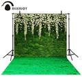 Allenjoy fotográfica fondo Verde jardín de flores de loto telones de fondo de tela boy boda photocall 8x12ft