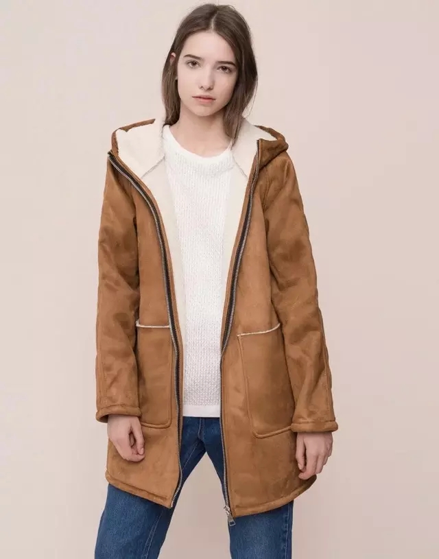 Popular Suede Coat With Fur Lining Buy Cheap Suede Coat