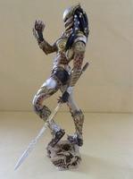 1/4 Scale Alien Vs Predator Anime Figure Woman Predator Dolls Standing Posture Alien Action Figure Model Ver Brinquedos