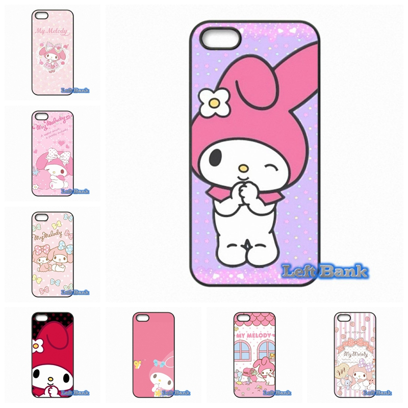 coque pink cute cartoon my melody phone cases cover for. Black Bedroom Furniture Sets. Home Design Ideas