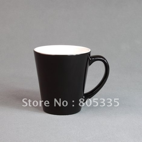 FREE SHIPPING 12OZ CONE COLOUR CHANGE  MUG