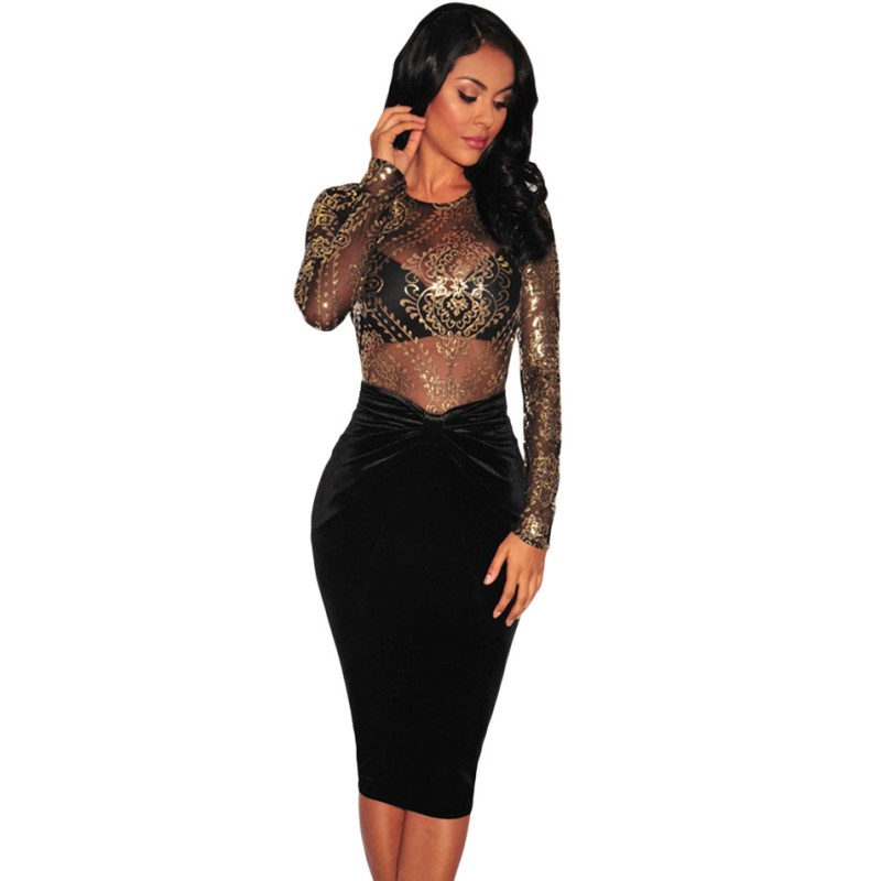 Compare Prices on Pencil Skirt Midi Black- Online Shopping/Buy Low ...
