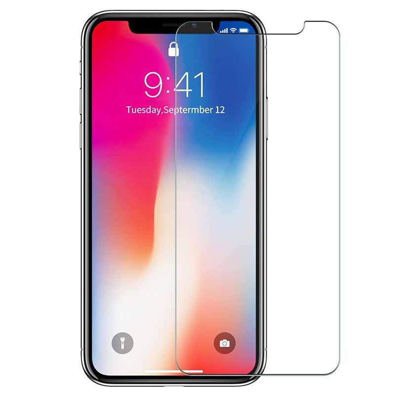 100pcs DHL 9H Tempered Glass for iPhone 7 8 Plus Screen Protector Film for iPhone X XS MAX XR Protection Glass-in Phone Screen Protectors from Cellphones & Telecommunications    2
