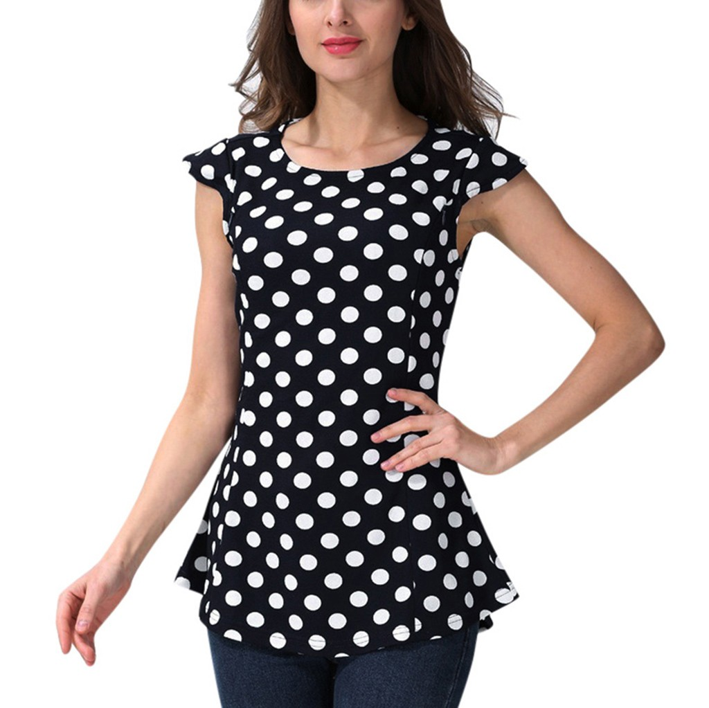 Summer New Fashion Women Maternity Fly Sleeve Dot Print Nursing Tops Blouse T-shirt For Breastfeeding Wholesale Free Ship Z4