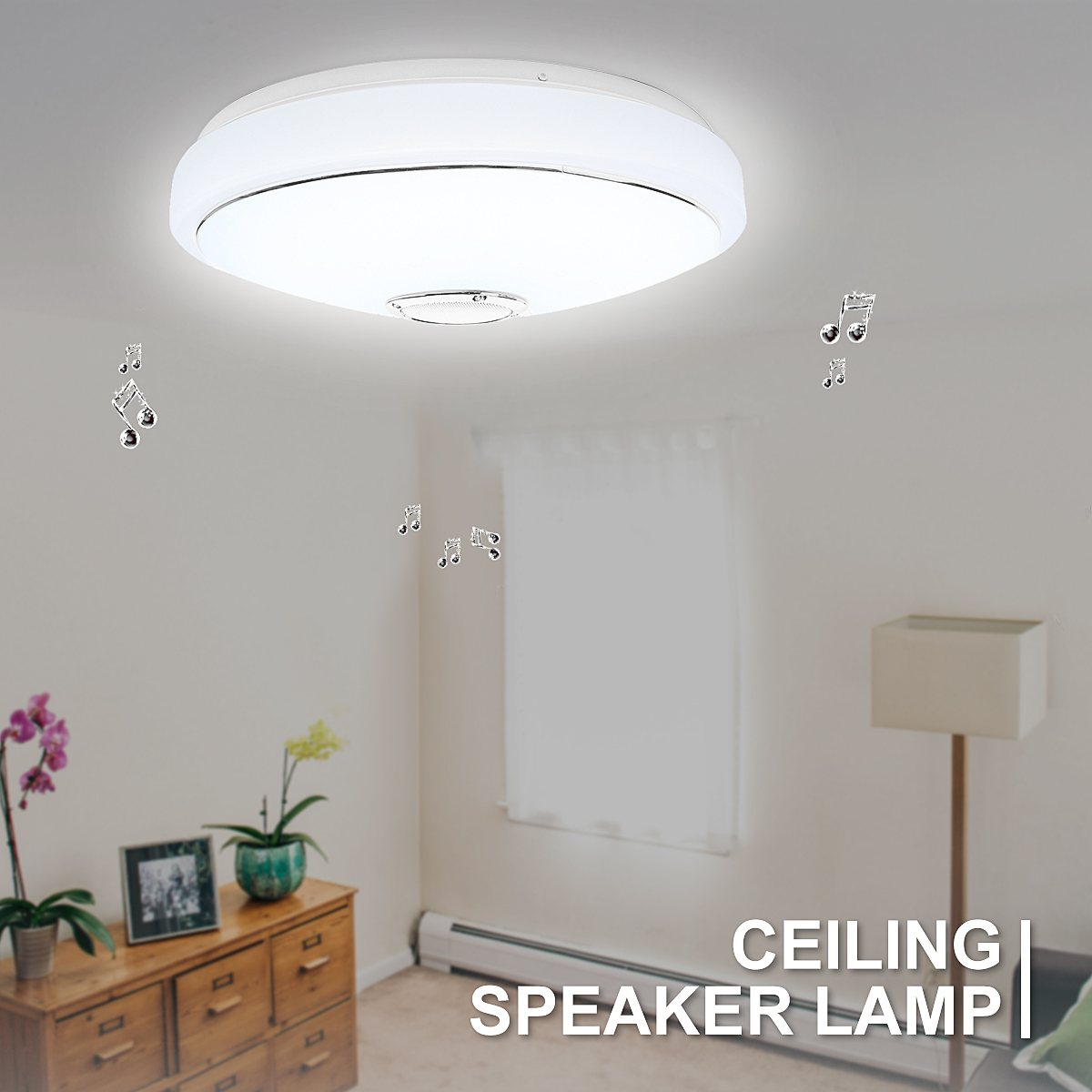 Modern LED Ceiling Light bluetooth Speaker Music 48 Bulb APP Phone Remote Control RGB Ceiling Speakers Lamp Indoor Room LightingModern LED Ceiling Light bluetooth Speaker Music 48 Bulb APP Phone Remote Control RGB Ceiling Speakers Lamp Indoor Room Lighting