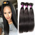 "Wholesale 6A Unprocessed Italian Light Yaki Human Hair Weave Cheap Yaki Kinky Straight 2pcs/lot 100g Bundles 8""-32""mixed length"