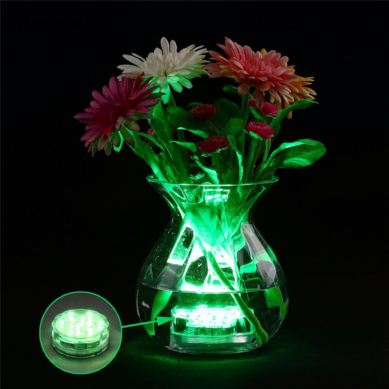 4 հատ հատ մոդուլային ստորջրյա անլար - LED լուսավորություն - Լուսանկար 5
