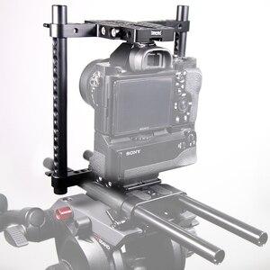 Image 5 - SmallRig Universalกล้องVersaFrame CageสำหรับCanon/Nikon/Sony/Panasonic GH3/GH4/Fujifilmกล้องDSLRแบตเตอรี่Grip 1750