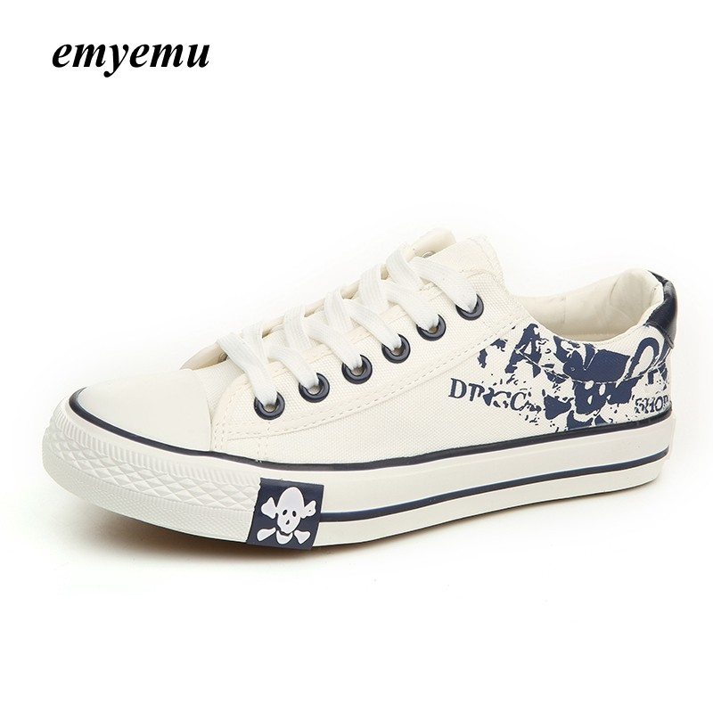 Women/'s Classic High Top Fold Over Graffiti Lace Up Canvas Fashion Sneaker NEW!