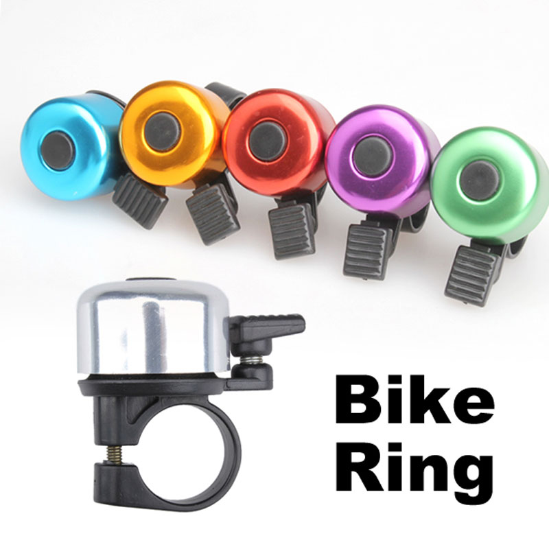 Bicycle Ring Bell Ring Horn Metal Loud Sound Bell Bike Cycling Ring For MTB Bike Safety Warning Bike Parts Color Random