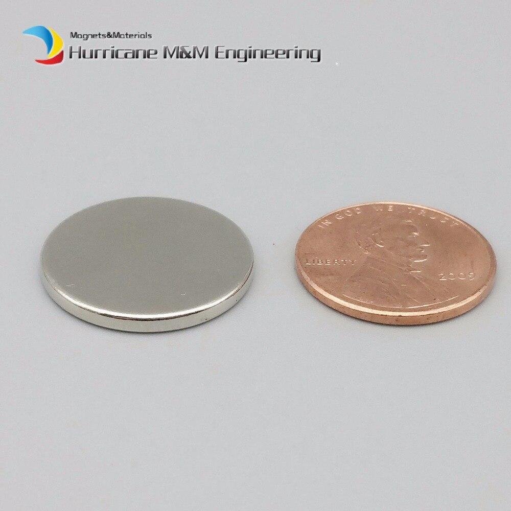 1 paquet N42 disque mince diamètre 20x2mm NdFeB aimant forte néodyme aimants capteur terres rares aimants permanents de laboratoire