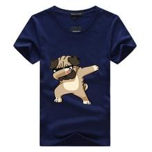 Dogs Animal cartoon Printed Brand  t shirt