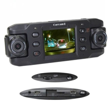 Car Camera Dual Lens Auto DVRs Car DVR with GPS Dash Cam Recorder Video Camcorder Full HD 1080P Registrator X8000