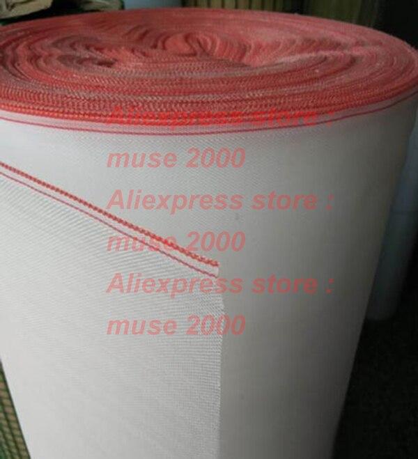 Rot Rand 40 Mesh Pe Nylon Net Fenster Filter Säure Alkali Widerstand Galvanik Pflegen Zucht Käfig Staub-proof Bildschirme Angenehm Im Nachgeschmack Dichtleisten Heimwerker
