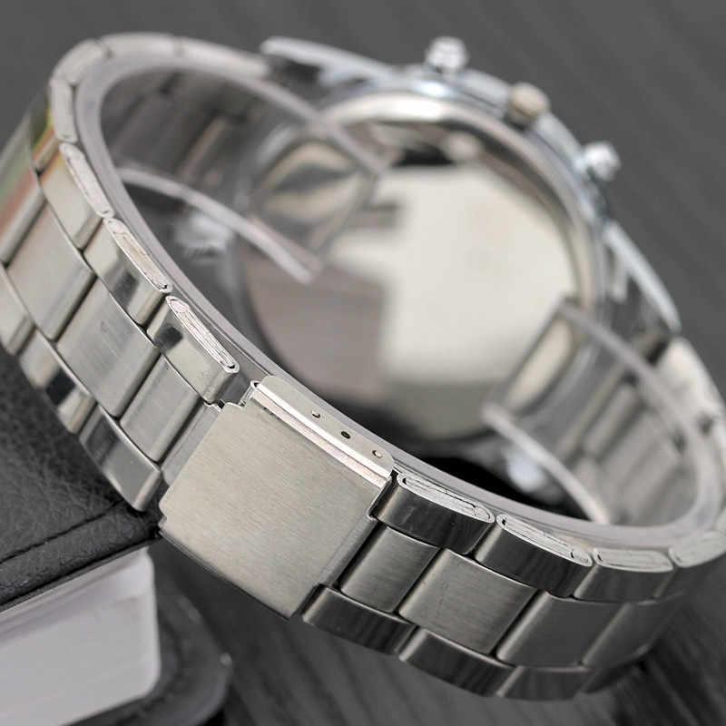 2018 แบรนด์หรูชายชายนาฬิกาสบายๆนาฬิกาข้อมือนาฬิกาควอตซ์ผู้ชาย relogio masculino 8063