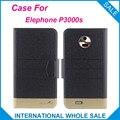 Hot! Elephone P3000s Caso, 5 Cores Da Moda de Negócios fecho Magnético, Couro de alta qualidade Caso Exclusivo Para Elephone P3000s