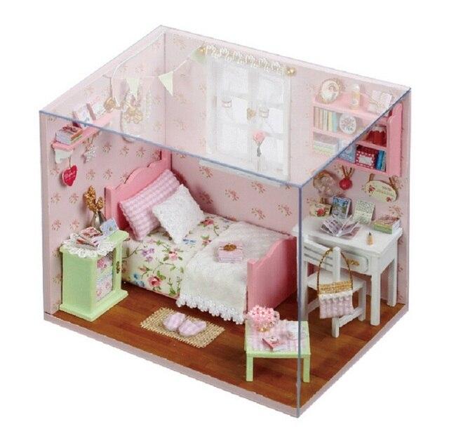 Mode Baby Schlafzimmer Geschenk Diy Dollhouse Bilderrahmen Serie