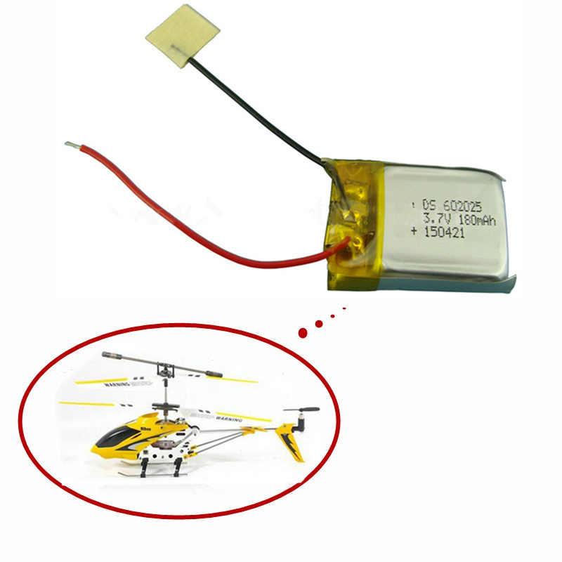 Batterie Lipo 3.7V 180mAh pour Skytech M3 m3 pièces de rechange de rechange pour hélicoptère Syma Skytech RC