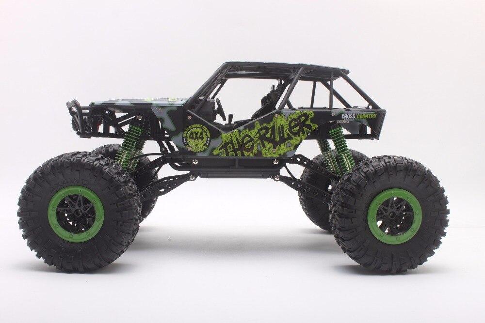 Coche Del RC 2.4 GHz Rock Crawler Truck 1:10 Escala 4WD Rally Car Off-road Carre