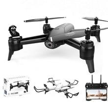 Folding Drone Dual HD cameras Adjusted Wide angle Gesture photography MV recording Long endurance  Multi function Mini UAV
