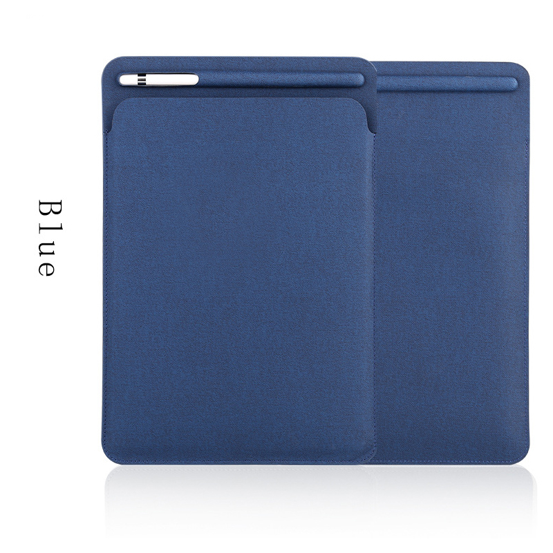 Sleeve Case For Ipad Pro 10.5 Case With Apple Pencil Stylus Holder PU Leather Cover Bag For Ipad Pro 9.7 Cover GOOJODOQ