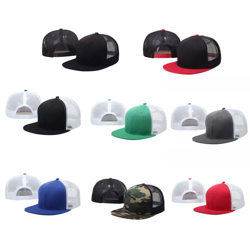 2017 new style high quality mesh camouflage Snapback hat camouflage hip-hop mens lady running cap
