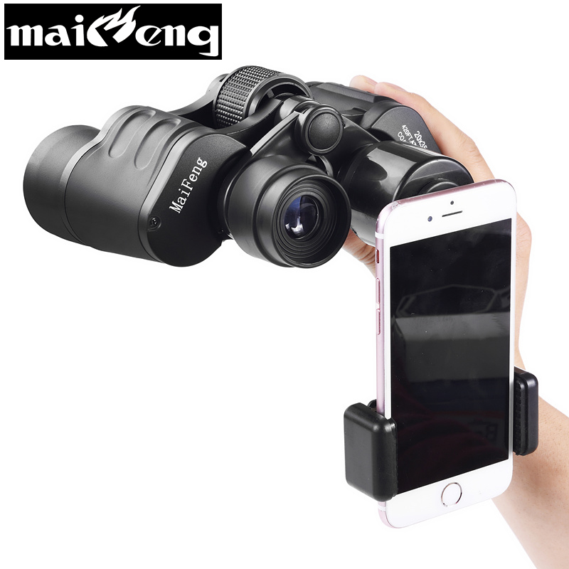 <font><b>20x50</b></font> Powerful Binoculars Professional Hd Telescope Wide-angle Long Range Binocular with Smartphone holder for Camping Concert image
