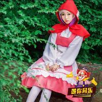 Anime Miss Kobayashi's Dragon Maid Kanna Cosplay Costume Maid Uniforms Full Set Dress For Girl Cosplay Costume