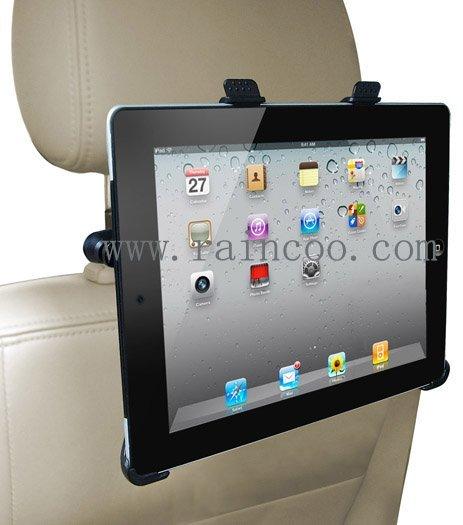 For iPad 2/3/4 holder, car headrest mount for ipad 2/3/4,  car headrest holder for iPad 3, PP bag packing