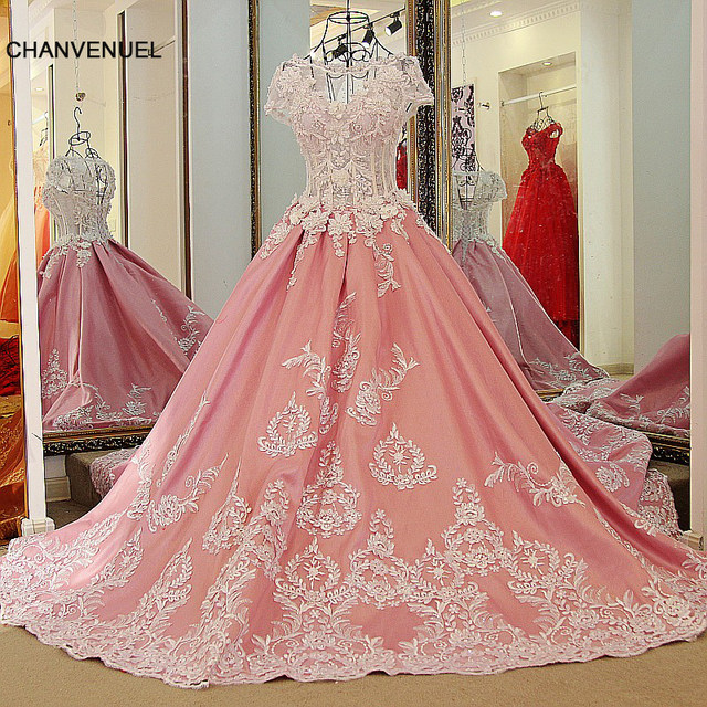 Online Shop LS41190 engagement party dress 2016 satin ball gown ...